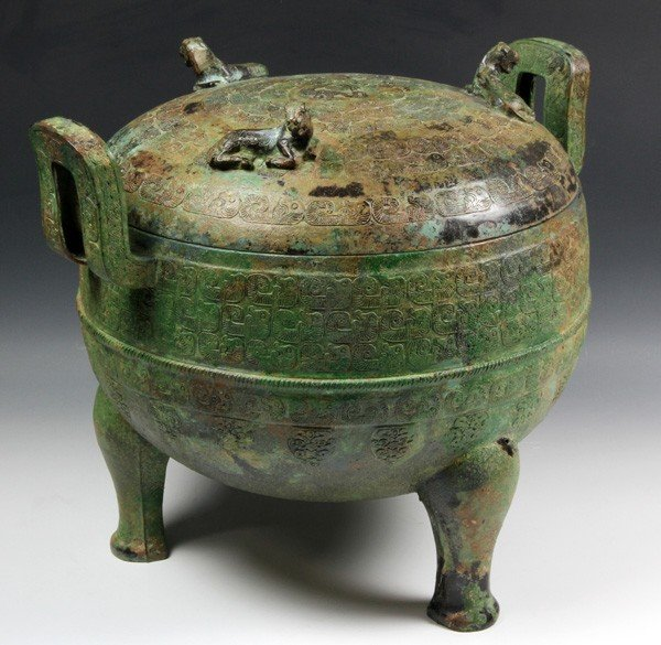 7150: Warring States Period Chinese Bronze Vessel