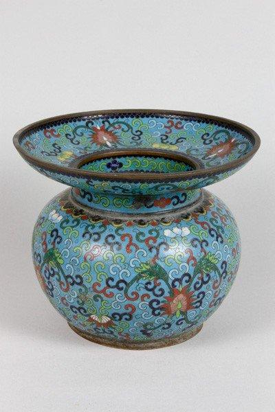 7153: Chinese 19th C. Cloisonné Jar