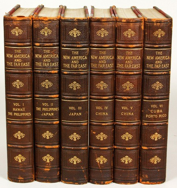 7400: The New America and the Far East, 6 Volumes