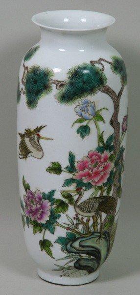 8002: Chinese Porcelain Vase