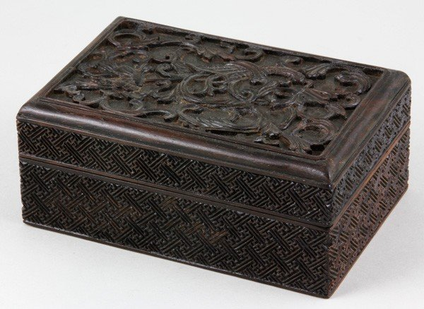 8016: Chinese Early 20th C. Zitan Box