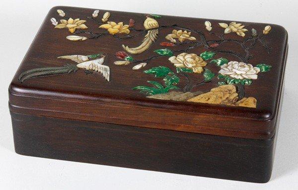 8017: Chinese 19th C. Wood Box