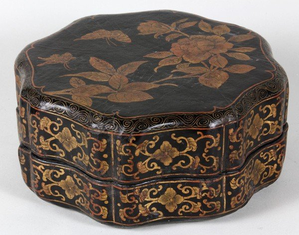 8018: Chinese 19th C. Lacquer Box