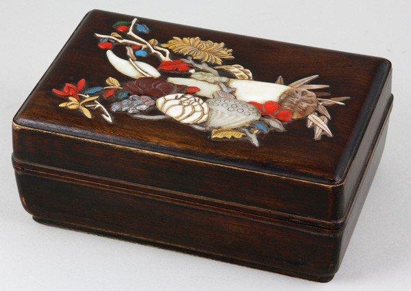 8019: Chinese 19th C. Wood Box