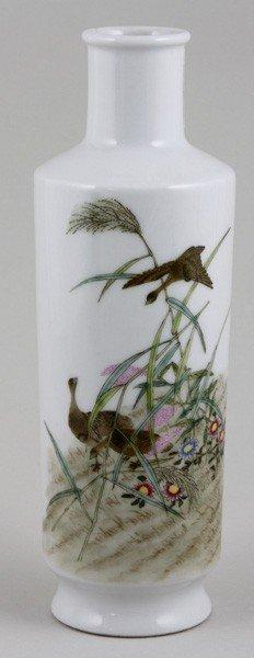 8023: Chinese Republic Period Famille Rose Vase