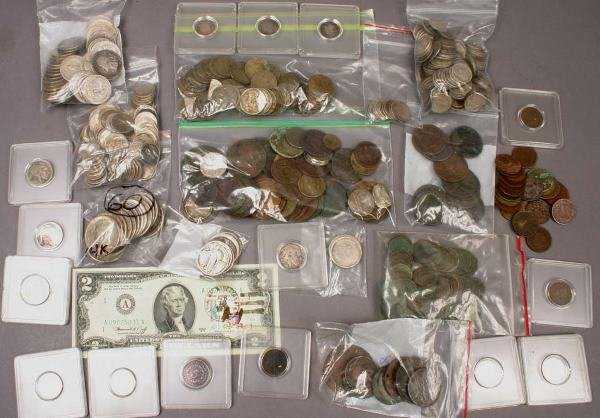 13: COLLECTION OF COINS 1866-1923