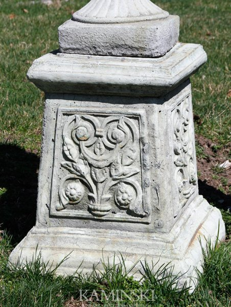 1065: French Style Floral Pedestal