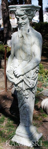1095: Large Statue of Pan