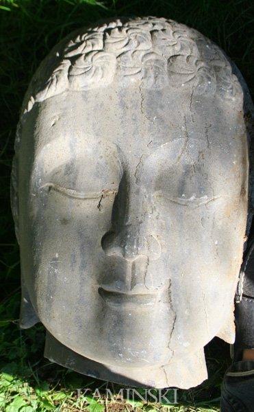 1082: Stone Buddha Head
