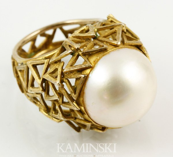 2011: 14K Gold and Pearl Ring