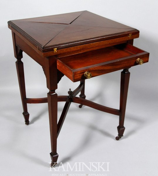 2016: 19th C. English Butterfly Card Table