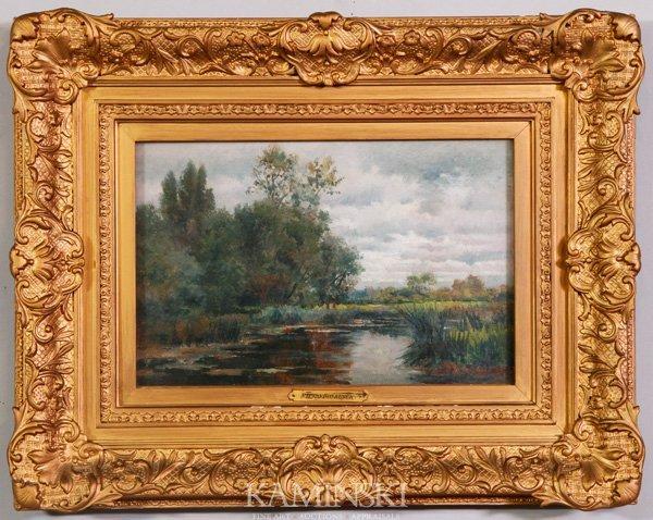 3006: Boskerck, Marsh Landscape, O/C