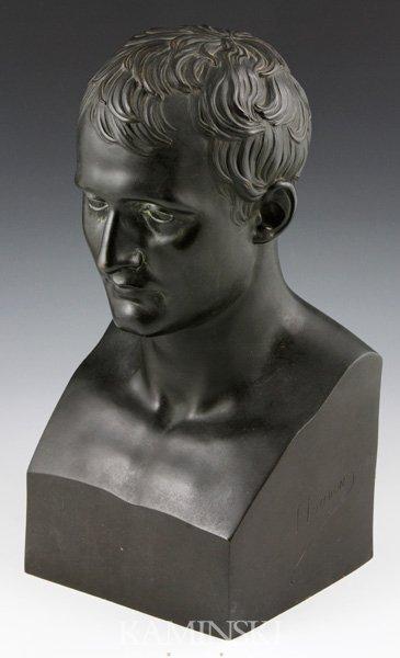 3007: 19th C. Bust of Napoleon, Bronze