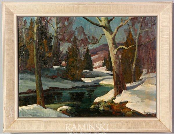3009: Engelhardt, Snowy Landscape, O/C