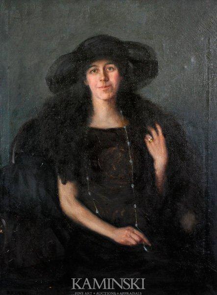 3014: Osnis, Portrait of Edith Wilson, O/C