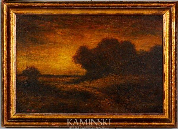 3015: Blakelock, Sunset Landscape, O/B