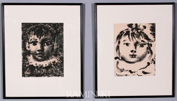 3063: Picasso, Pair of Lithographs