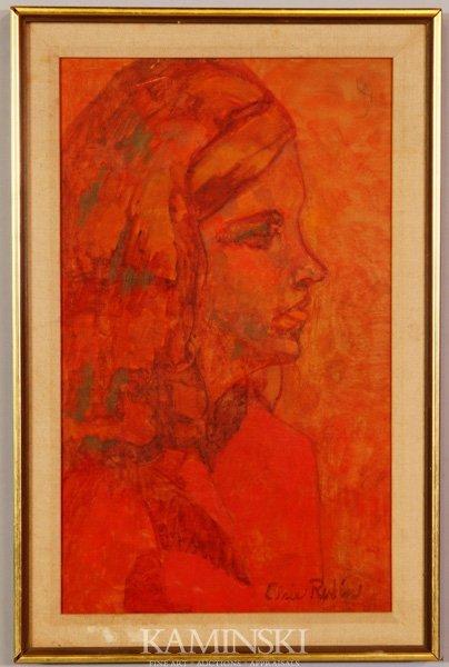 3076: Rubin, Portrait of a Girl, O/B