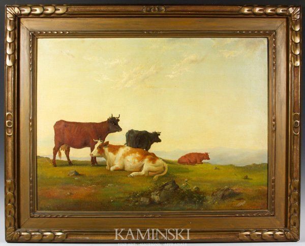 3081: Robinson, Pastoral Scene, O/C