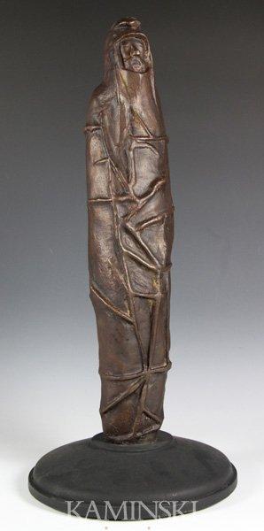 3082: Baskin, Man in Robe, Bronze