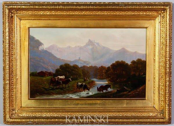 3084: Danby, Mountain Landscape, O/C