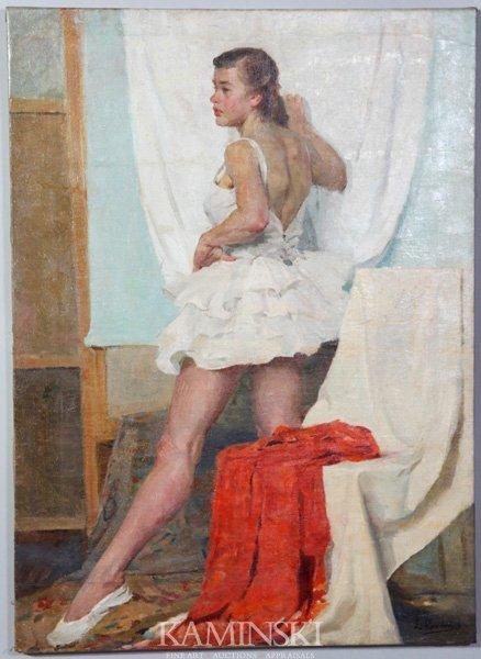 "3087: Romanach, ""Ballerina"", O/C"