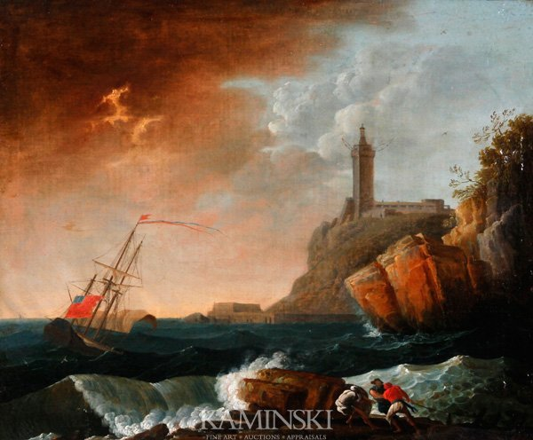 3091: Vernet, Shipwreck, O/C