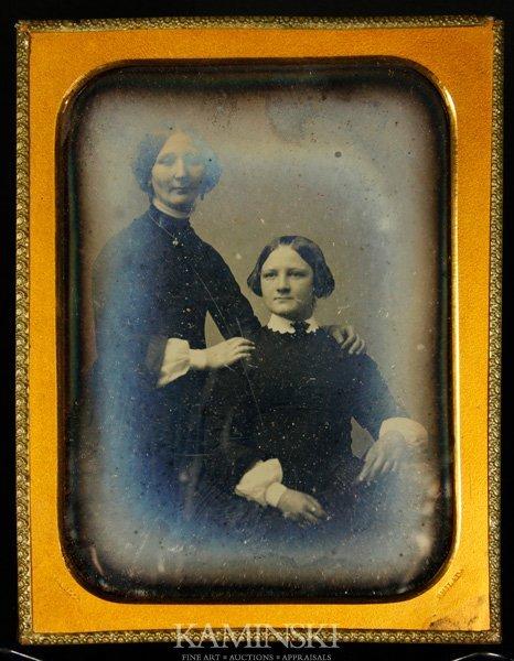 9004: Root, Mother and Daughter, Daguerreotype