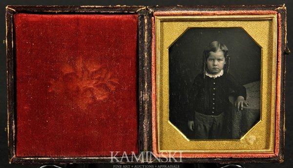 9010: Collection of 4 Daguerreotypes of Children - 3