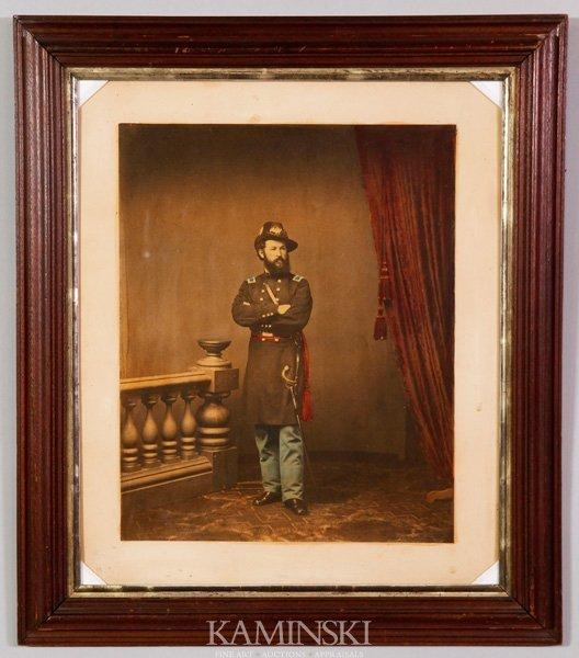 9011: Albumen of Civil War Soldier
