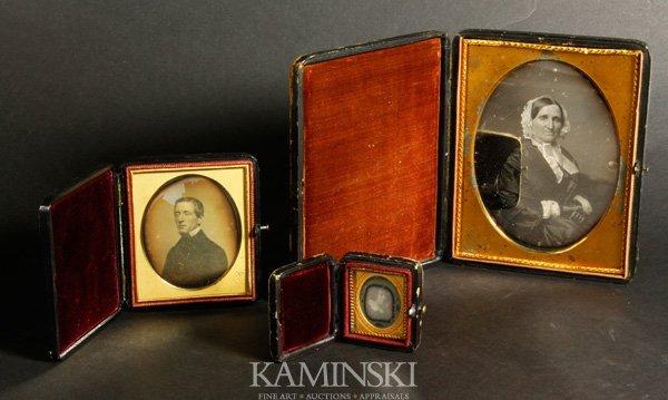 9021: 3 Daguerreotypes