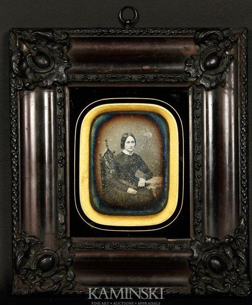 9023: Daguerreotype of a Woman