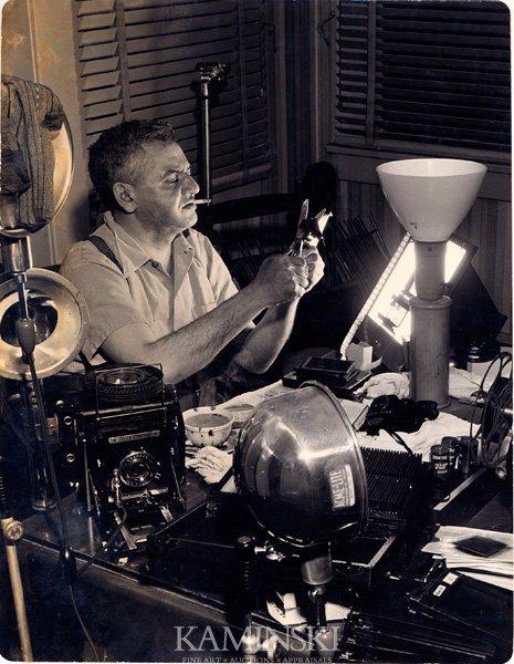9118B: Weegee, Self Portrait, Photograph
