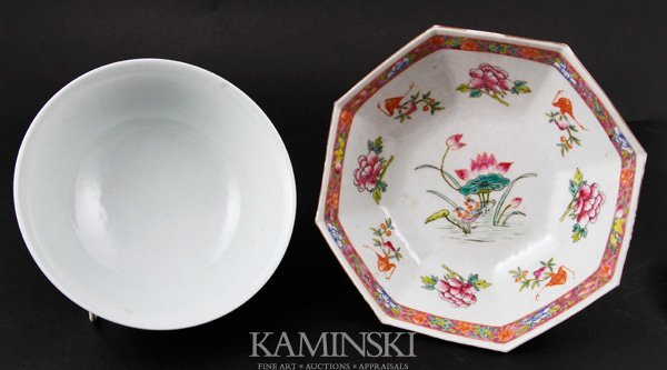 4016: Two Chinese Bowls