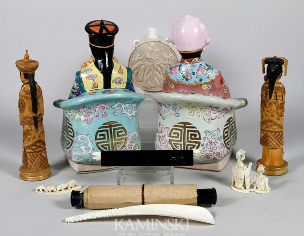 4029: Lot of 10 Chinese Items - 6