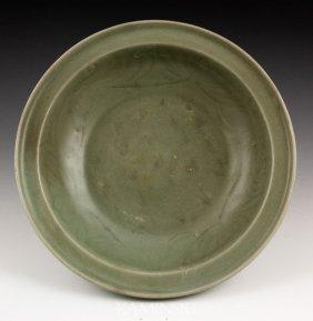 Chinese Ming Celadon Bowl