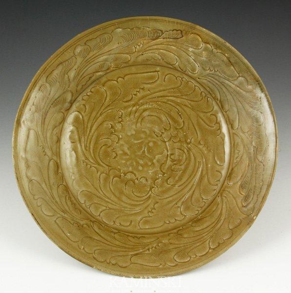 4077: Chinese Song Yaozhou Glazed Bowl