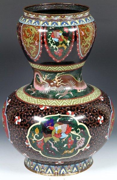 4078: Chinese 19th C. Cloisonné Vase