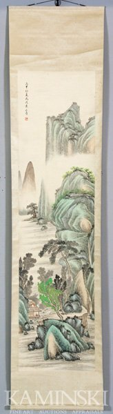 4122: Chinese Scroll Painting