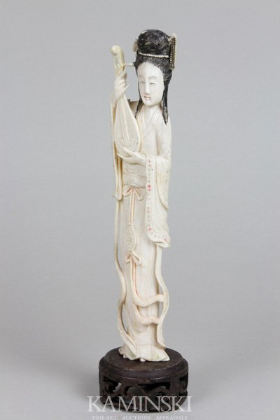4126: Chinese 19th C. Ivory Figure