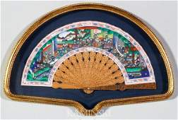 4274: 19th C. Chinese Painted Fan