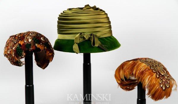 5003: 3 Vintage Hats