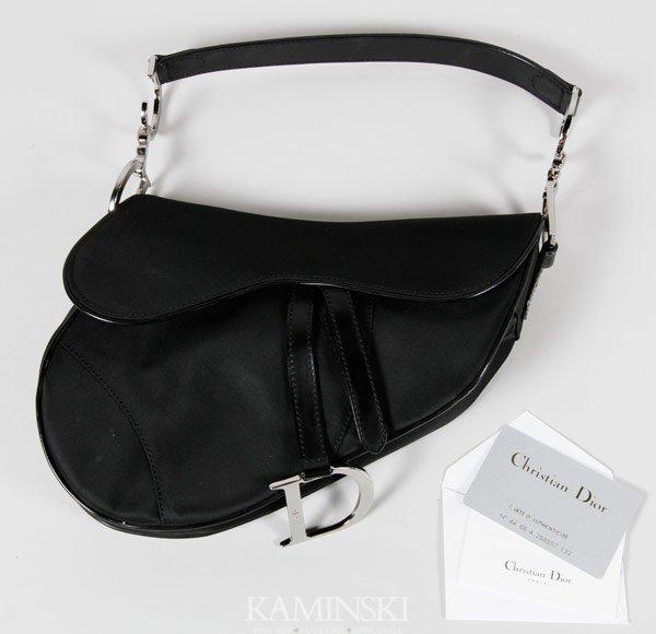 5017A: Christian Dior Saddle Bag