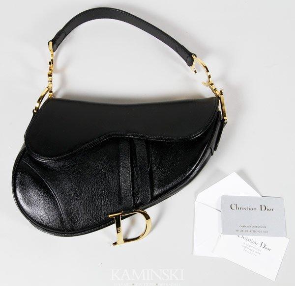 5018: Christian Dior Saddle Bag