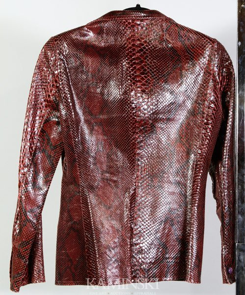 5037: Samuel Robert Snake Skin Jacket - 2