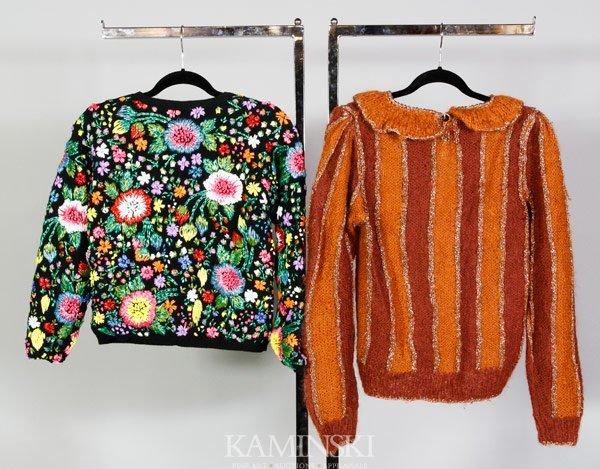 5218: 2 Adrienne Vittadini Sweaters - 2