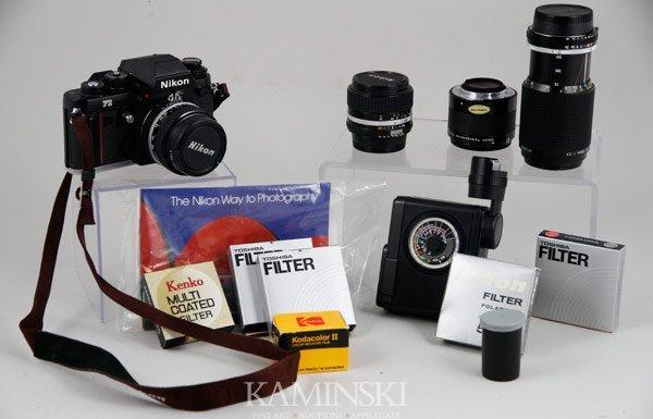 6011: Nikon F3 Camera and Accessories