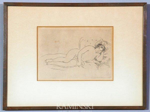 6013: Renoir, Nude Resting, Print