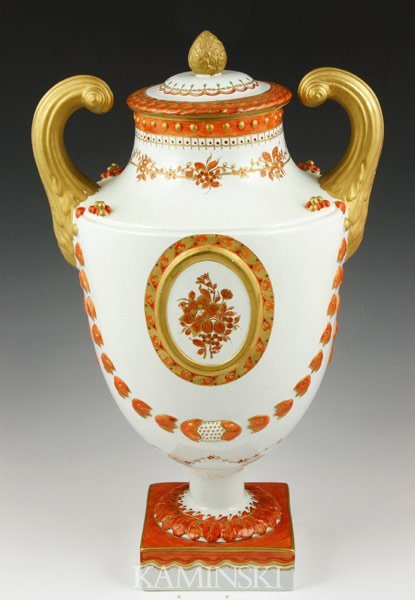 6017: Chinese Export Vase