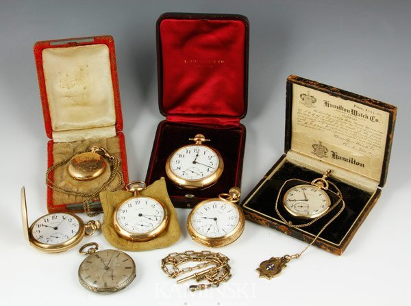 6094: Lot of 7 Pocket Watches